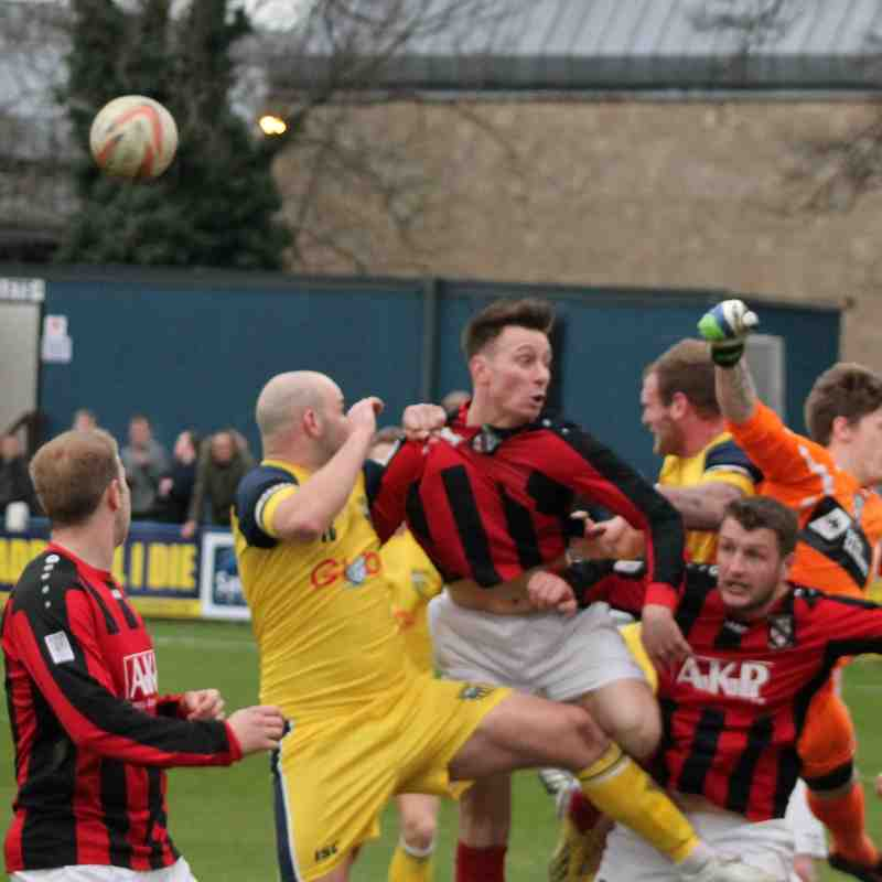 Tadcaster Albion v Cleethorpes Town , 2015/16.