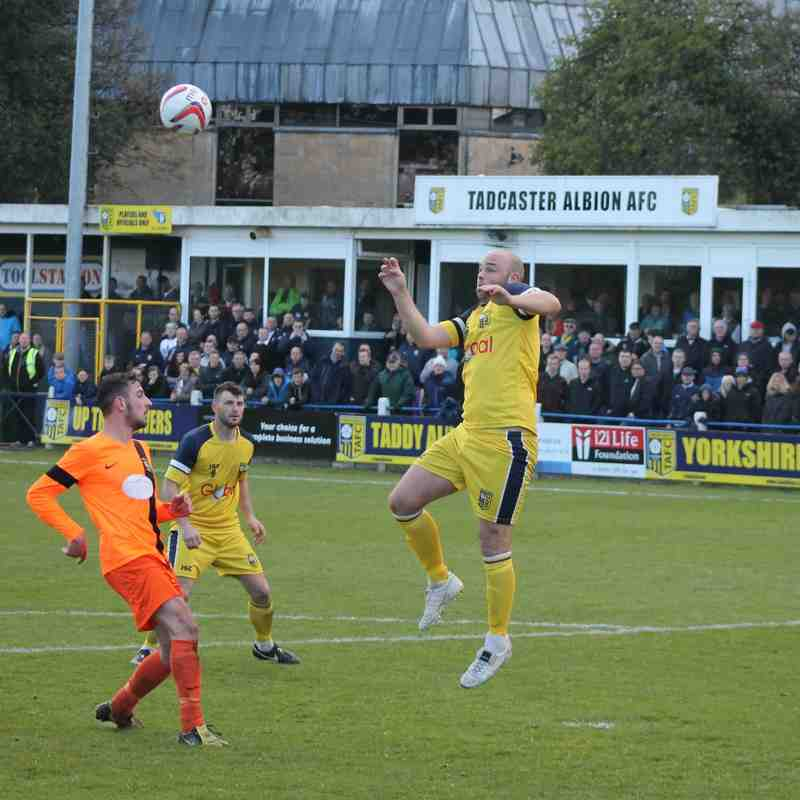 Tadcaster Albion v Athersley Recreation 2015/16.