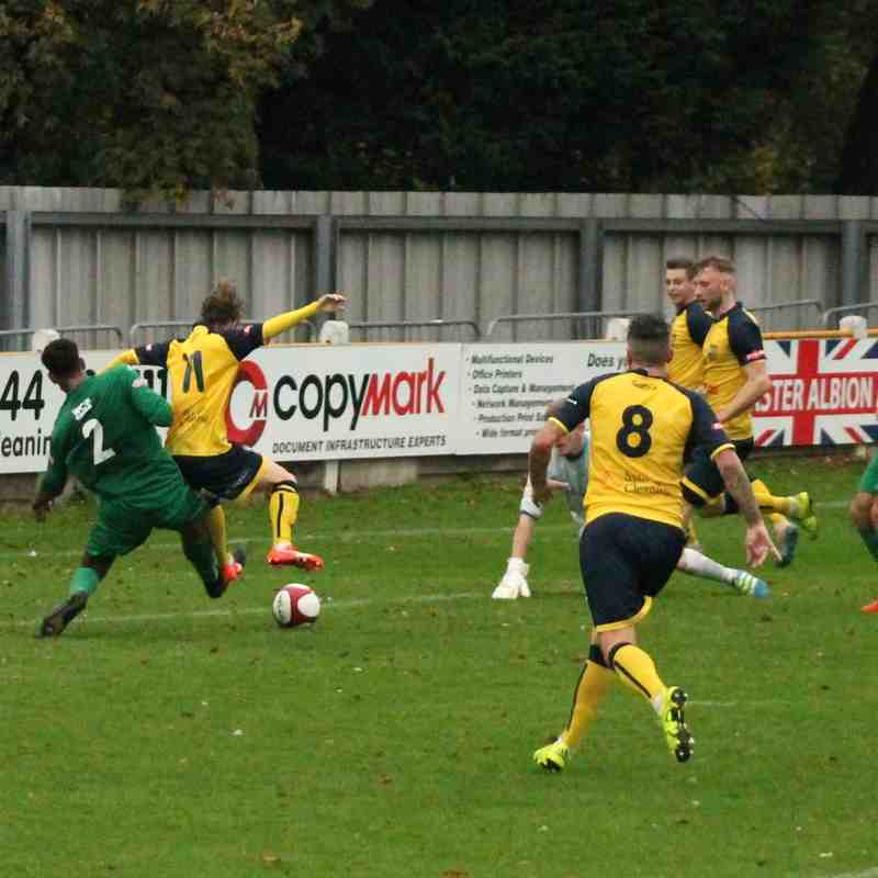 Tadcaster Albion v Burscough , 2016/17.