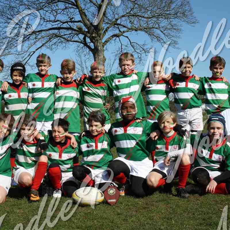 U10's v MINI TOUR - Holt Kingswood Festival - 10th April 2016