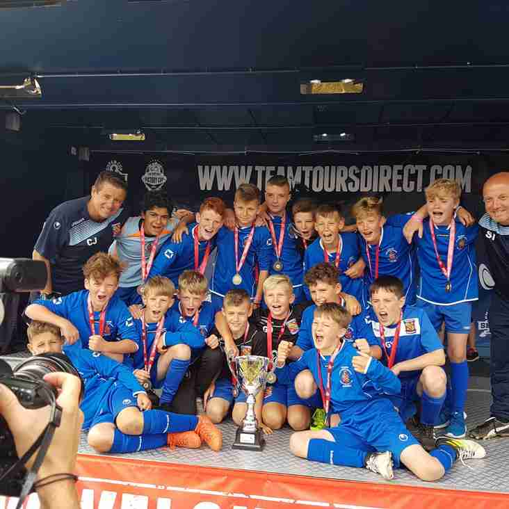 Academy Under-12's Crowned Welsh Super Cup Champions