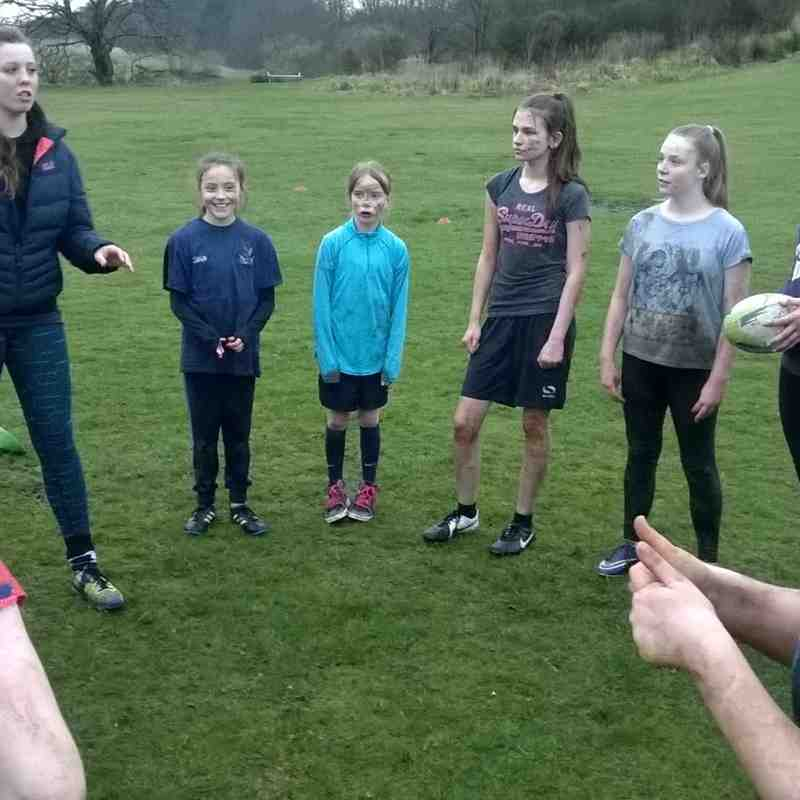 Girls Youth Team Training Session 13.04.16