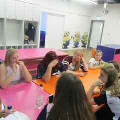 Girls' Teams at Sky Academy Skills Studio