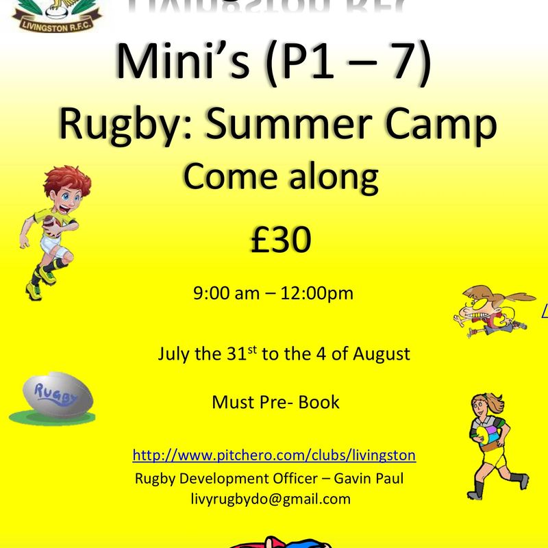 LiviRFC Summer Camp