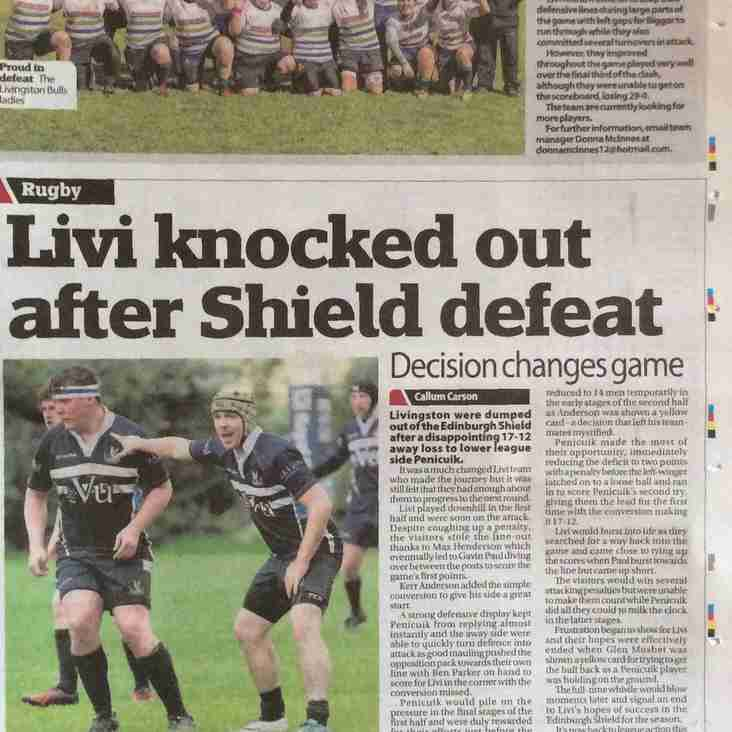 #LiviRFC Match reports