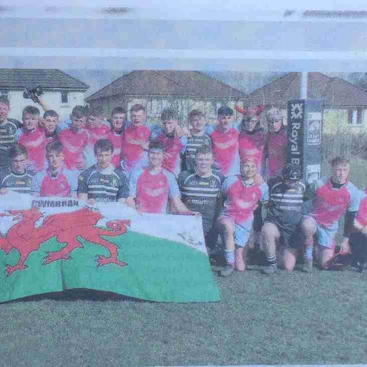 LiviRFC Match Report -Welsh visit a top day