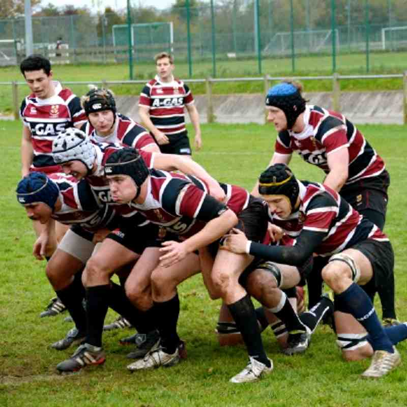 UBRFC 2s vs Gloucestershire 1s (07.11.12)