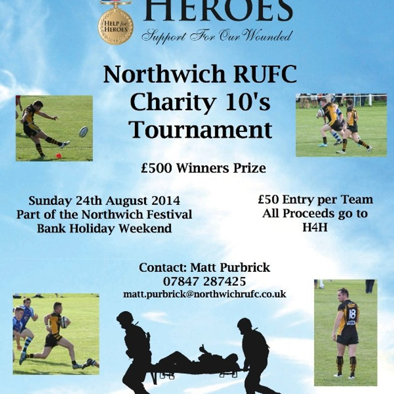 Help For Heroes Northwich Rugby 10s Tournament