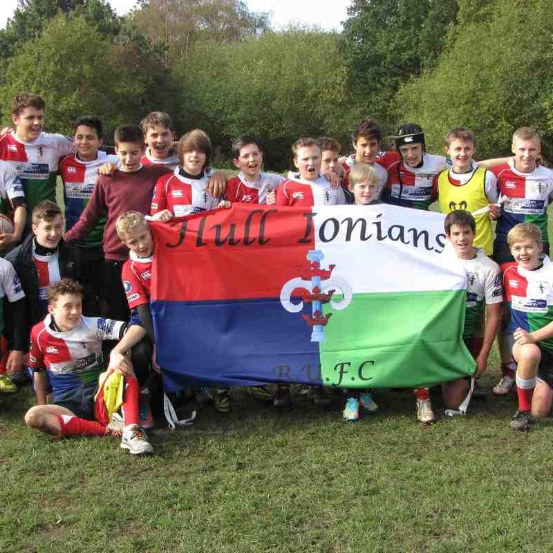 moortown U14s V ionians U14 (Yorkshire Cup Rnd1)