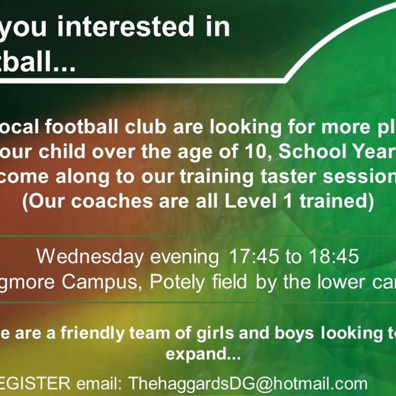 Looking to play football........