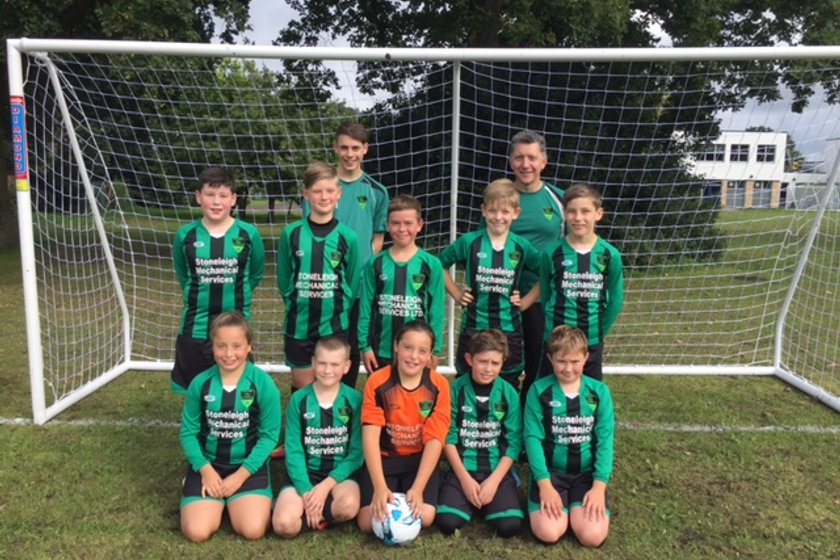 U12's Dynamos lose to U12 ASCOT UNITED COLTS 6 - 2