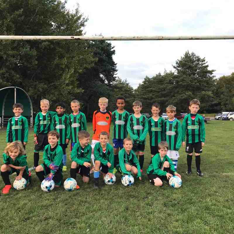 U8s Dynamos and Strikers 2017/18