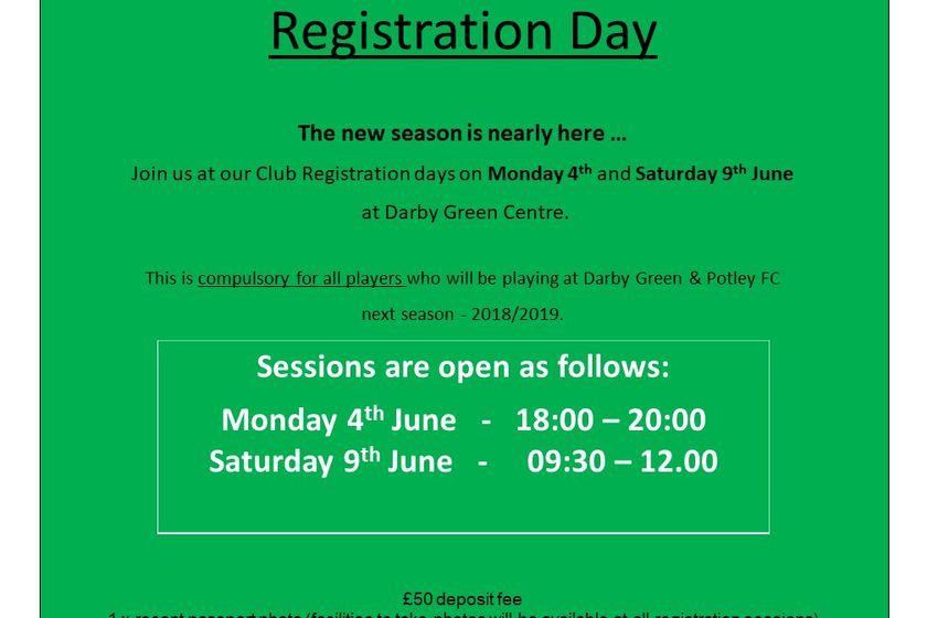 Registration Day 2018