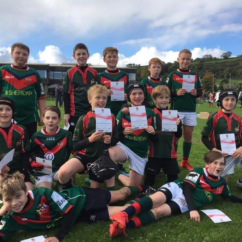 Mini Rugby Success at Larne Blitz