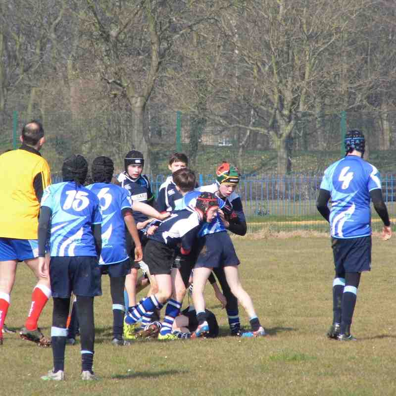 U13s Peterborough Lions March 13th 2016