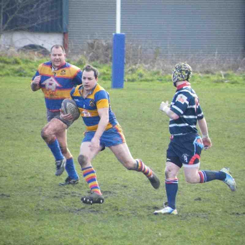 Old Hales Vets v Stourbridge Vets - 22/02/14