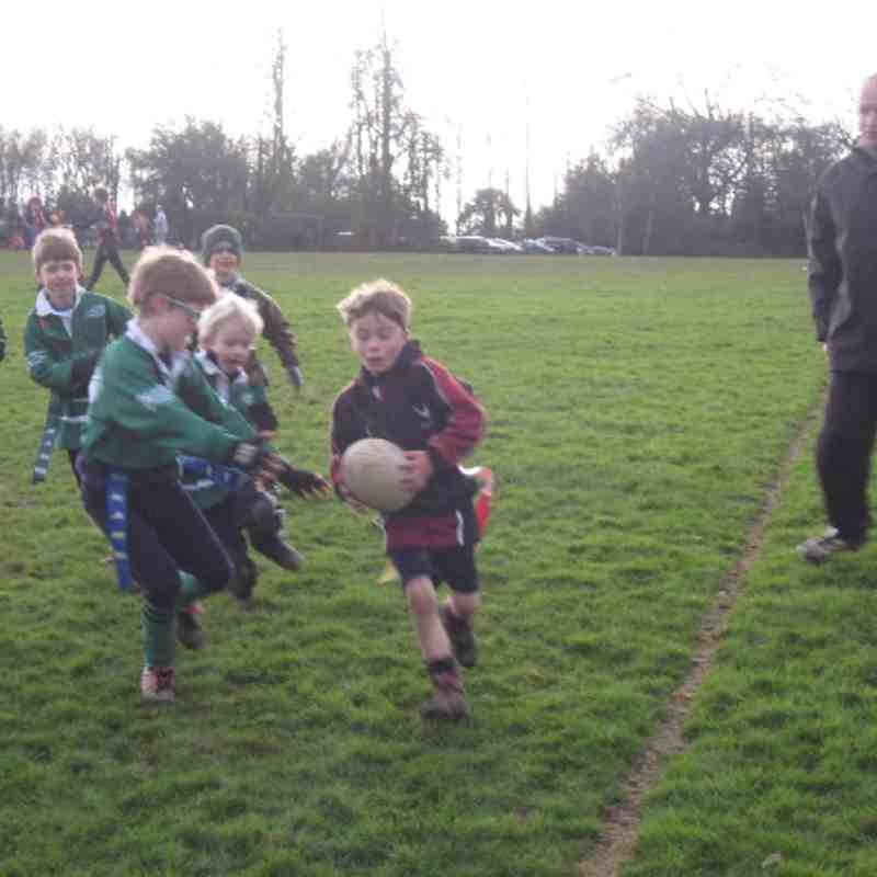 U7 Training With Cranbrook - 13/01/13