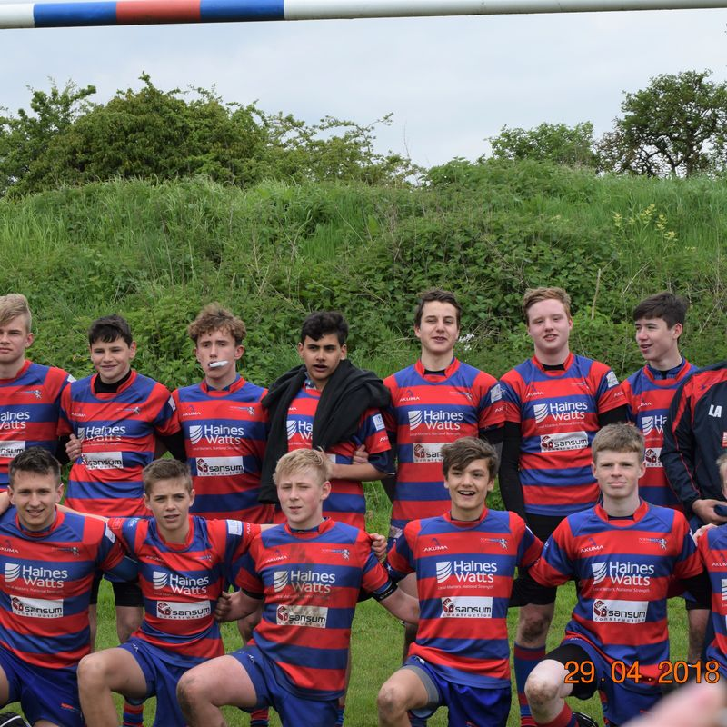 Under 16's beat St Sodbury's/Thornbury