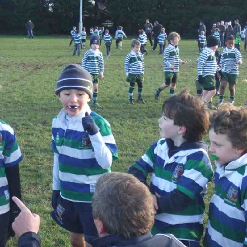 U8's at Greystones 2012