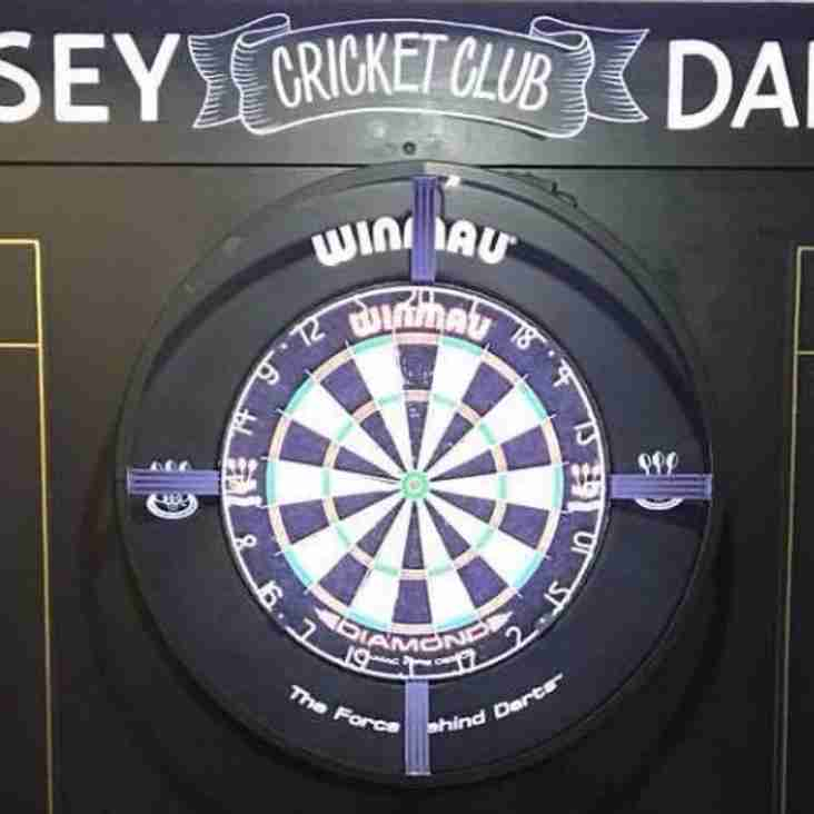 Darts team in action tonight