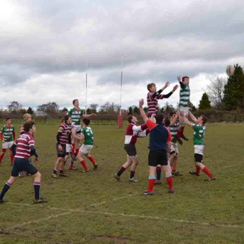 CRFC Under 16's v Shelford - 9th Dec 2102 (Won 17-10)