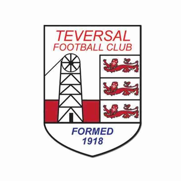 ARNOLD TOWN v TEVERSAL FC