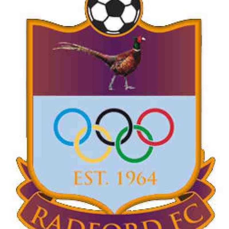 RADFORD FC v ARNOLD TOWN FC