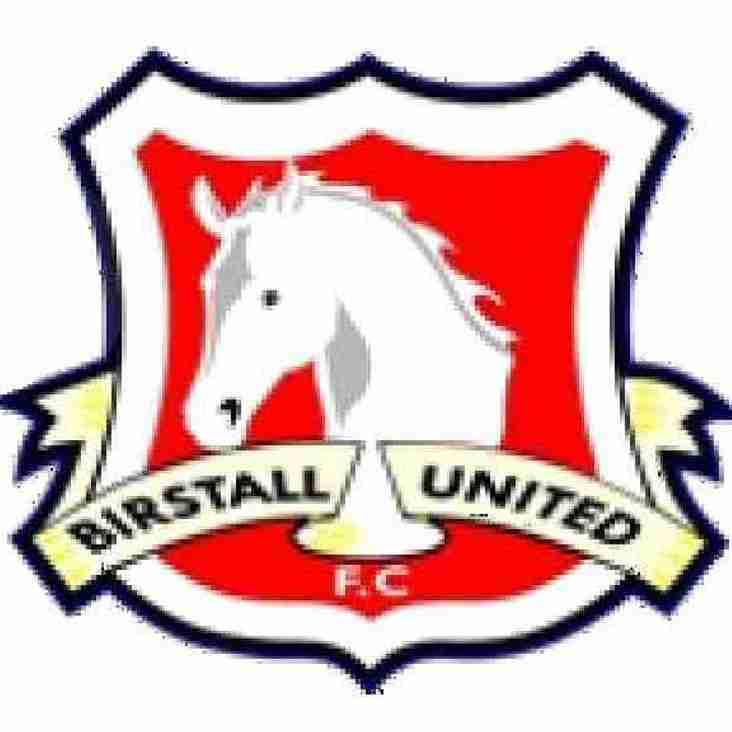 ARNOLD TOWN v BIRSTALL UTD (@ Birstall Utd)