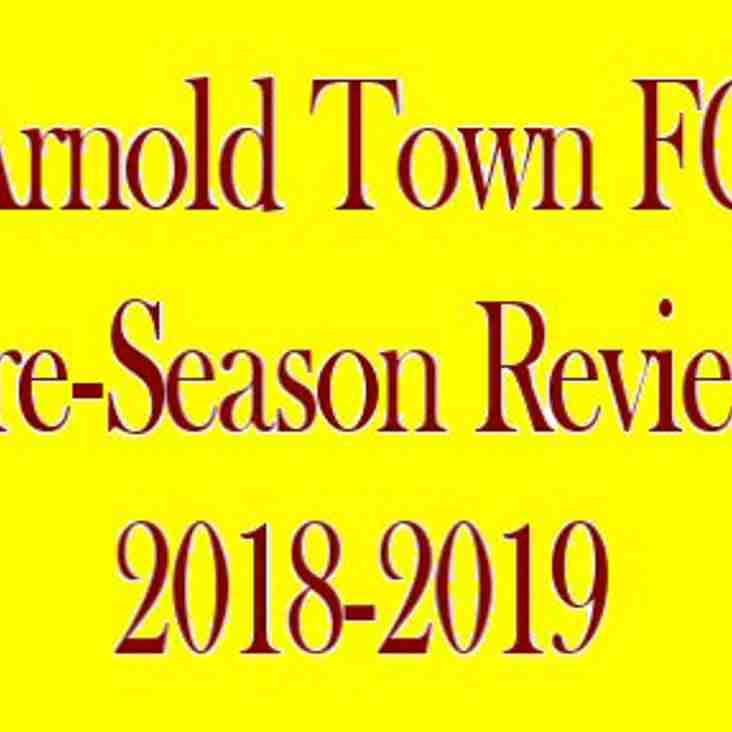 ARNOLD TOWN FC...