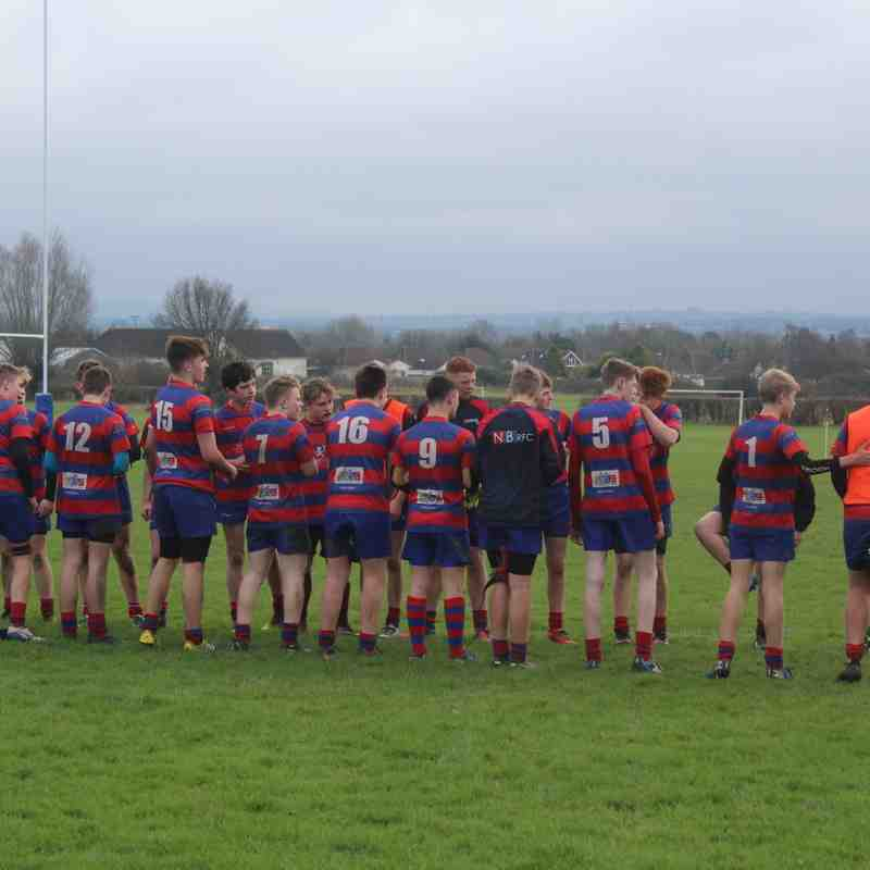 U15s vs Thornbury 5th February 2017