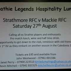 Strathie Legends Lunch Payment