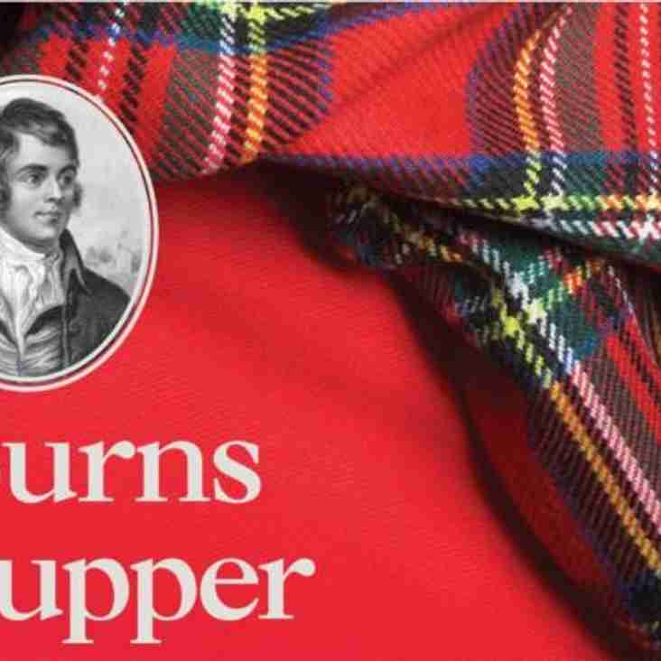 Strathie Men's Burns Supper