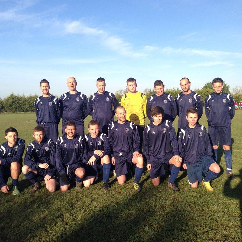 A Team lose to Frys Club 'B' 3 - 0