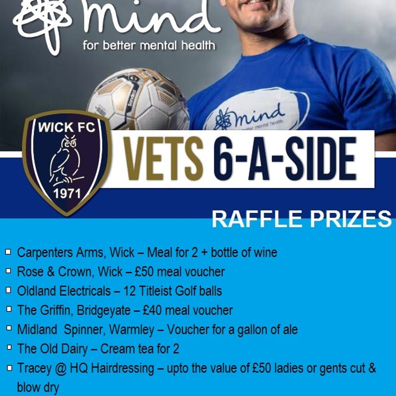 RAFFLE TICKETS - £1