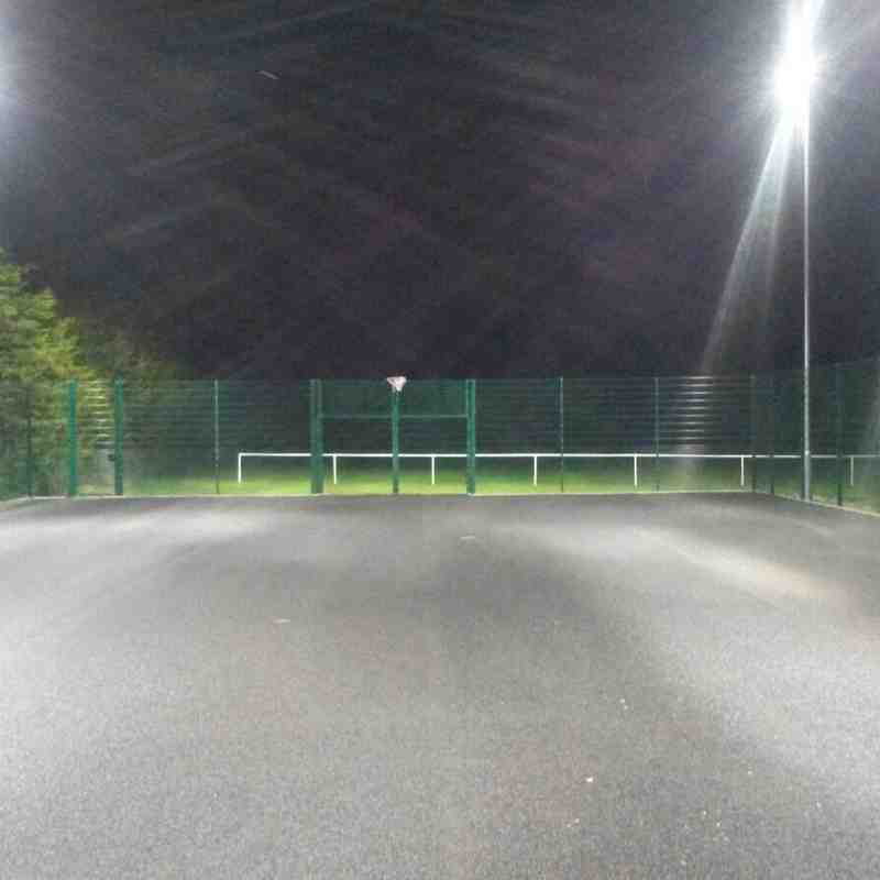 MUGA Floodlight Install