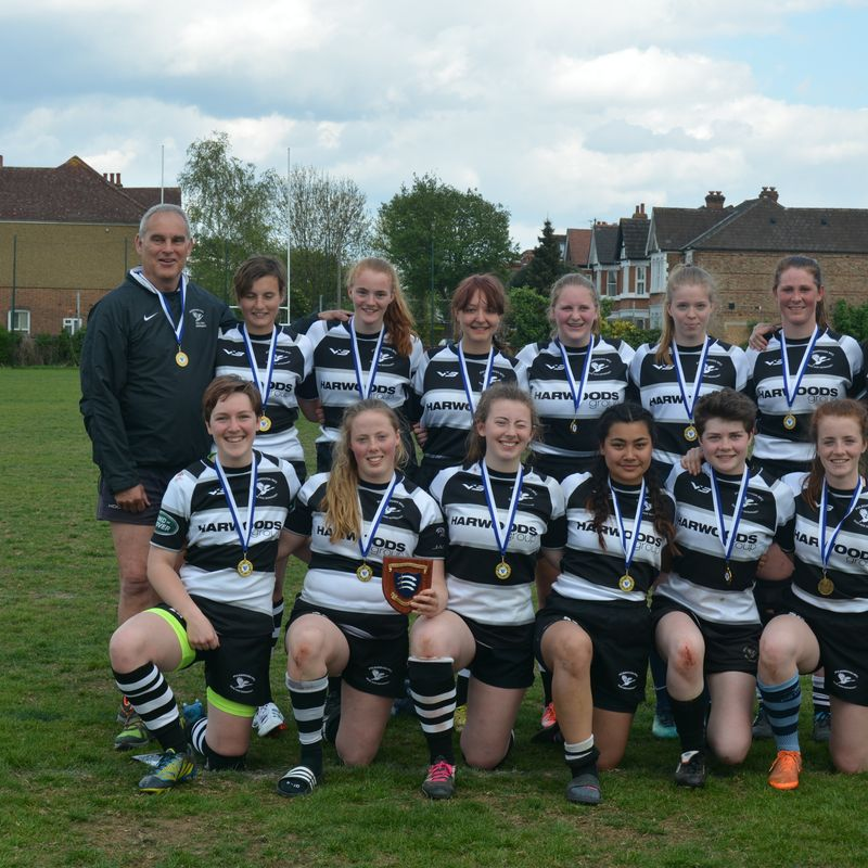 U18 Girls Win St George's Day 10s