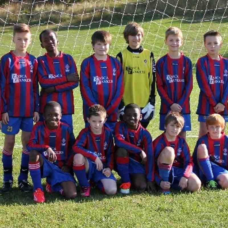 Thornes Juniors u12 (2013-14)