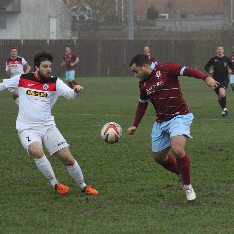 AFC Emley 2 - 1 Grimsby Borough