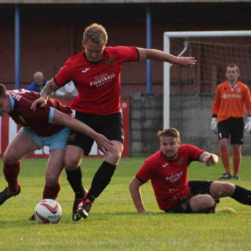 AFC Emley 1-4 Sheffiled FC