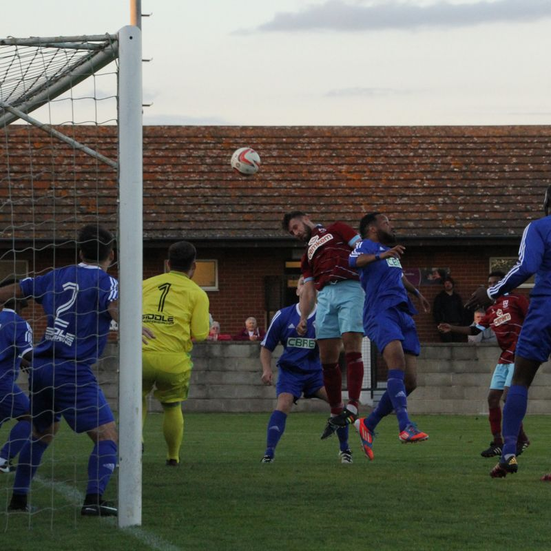 AFC Emley 1-8 Yorkshire Amateur
