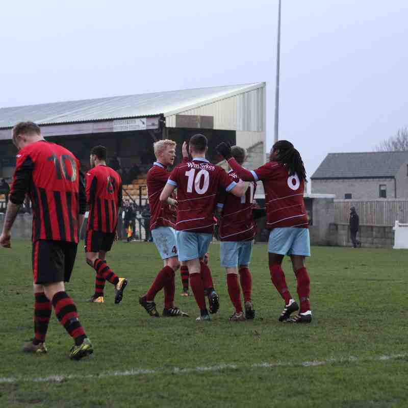 AFC 2-1 Dronfield Town