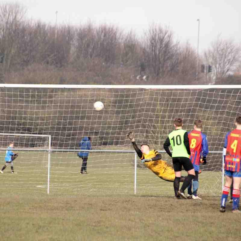 Thornes U15 vs Pinfold Pumas U15