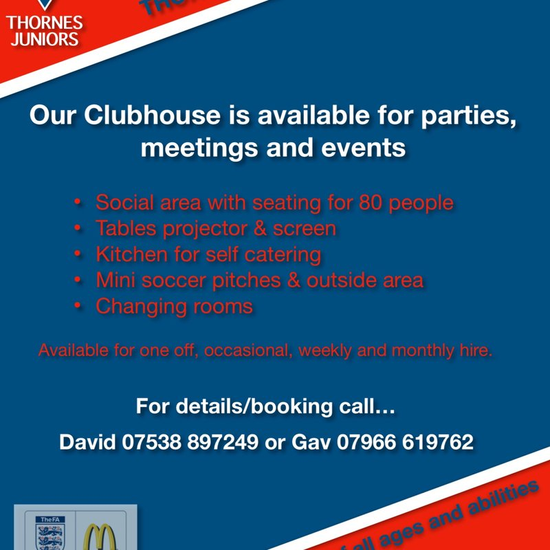 Use Our Clubhouse