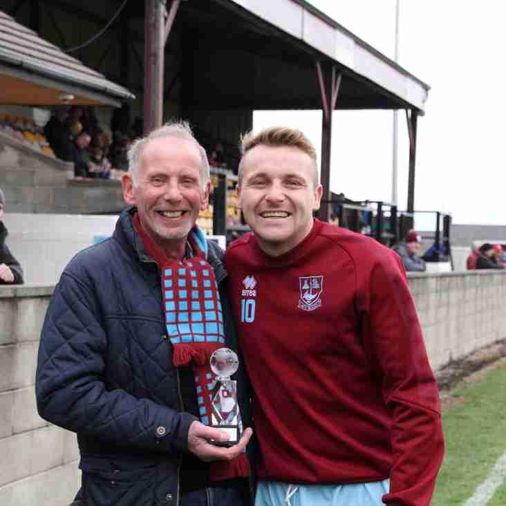September Player of the Month:  Danny Stocker