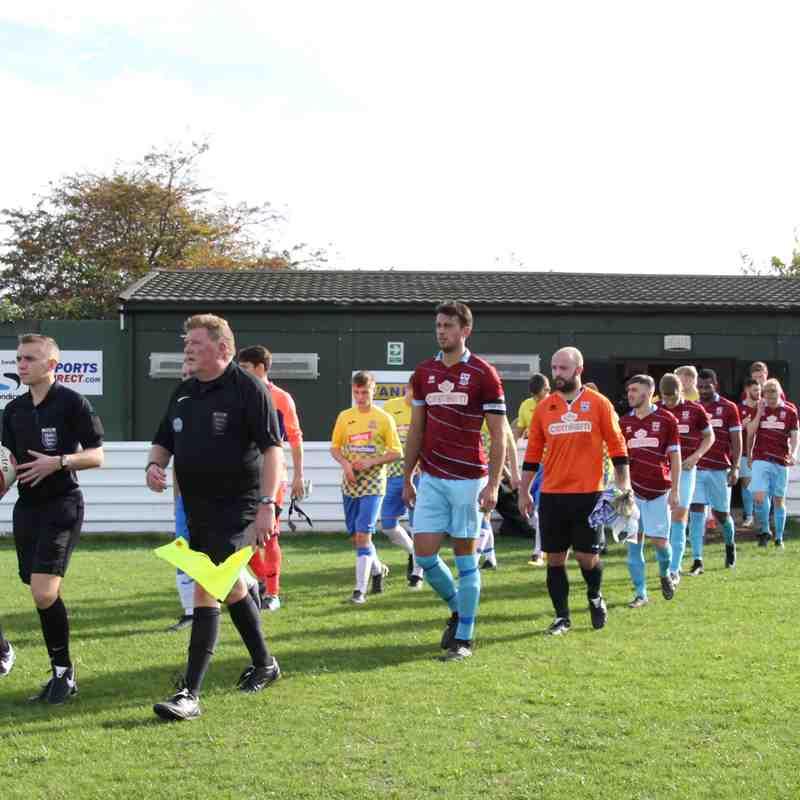 FC Bolsover 0-6 AFC Emley
