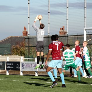 AFC Emley sees red after losing to Glasshoughton Welfare