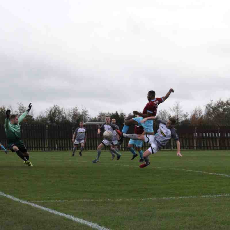 AFC Emley 2-2 Grimsby Borough