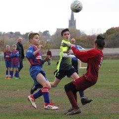 Thorne U12 v Leed City Boys U12