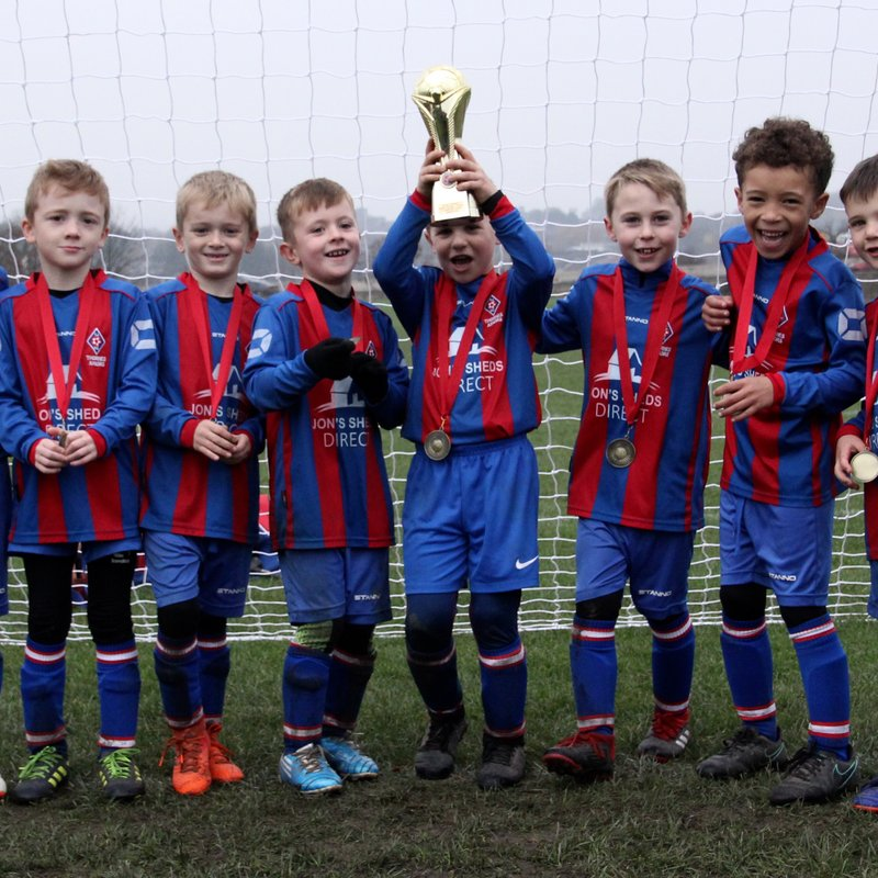 Under 7's Win Cup