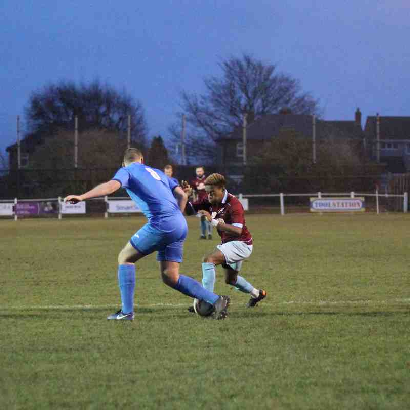 AFC Emley 1-2 Rossington Main FC